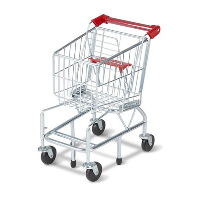 MELISSA AND DOUG GROCERY SHOPPING CART