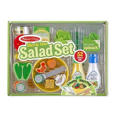 MELISSA AND DOUG SLICE & TOSS SALAD SET M & D