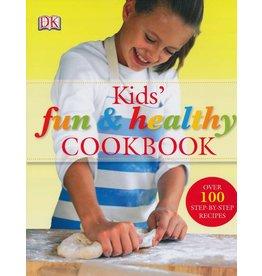 DK PUBLISHING KIDS FUN & HEALTHY COOKBOOK HB