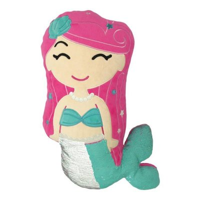 ISCREAM REVERSIBLE SEQUIN MERMAID PILLOW**