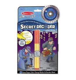 MELISSA AND DOUG SECRET DECODER