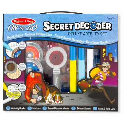MELISSA AND DOUG SECRET DECODER DELUXE SET
