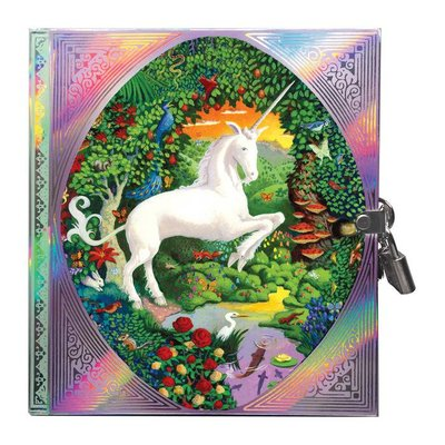 EEBOO UNICORN LOCKED DIARY