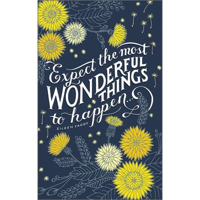 COMPENDIUM EXPECT THE MOST WONDERFUL THINGS JOURNAL WN