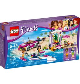LEGO ANDREA'S SPEEDBOAT TRANSPORTER*