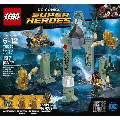 LEGO BATTLE OF ATLANTIS SUPER HEROES