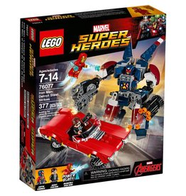 LEGO IRON MAN DETROIT STEEL STRIKES*