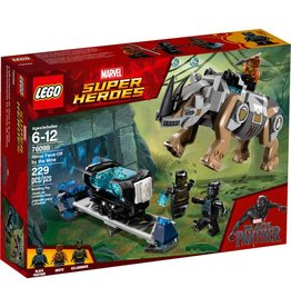 LEGO RHINO FACE OFF BY THE MINE*