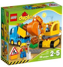 LEGO TRUCK & TRACKED EXCAVATOR DUPLO