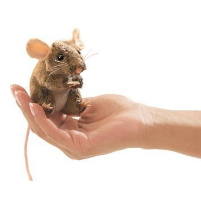 FOLKMANIS INC MINI FIELD MOUSE FINGER PUPPET FOLKMANIS