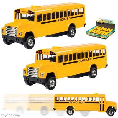 TOYSMITH PULL BACK SCHOOL BUS
