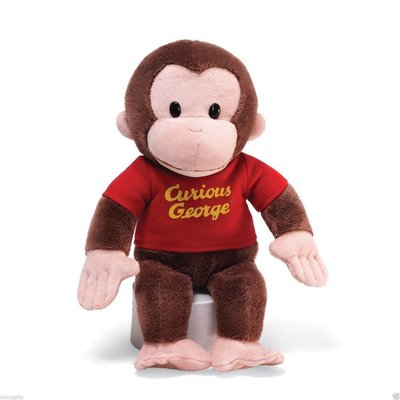 KIDS PREFERRED CURIOUS GEORGE 8""