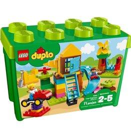 LEGO LARGE PLAYGROUND BRICK BOX