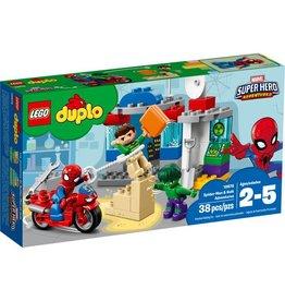 LEGO SPIDER--MAN & HULK ADVENTURES