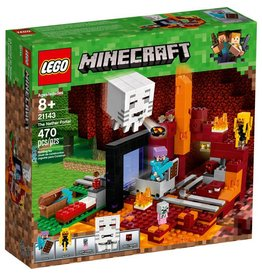 LEGO THE NETHER PORTAL MINECRAFT