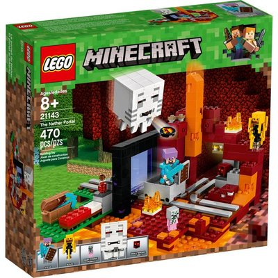 LEGO THE NETHER PORTAL MINECRAFT*