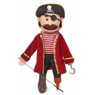 SILLY PUPPETS PIRATE PUPPET