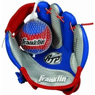 FRANKLIN BASEBALL GLOVE AND BALL RIGHT HANDED