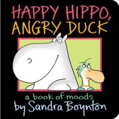 SIMON AND SCHUSTER HAPPY HIPPO ANGRY DUCK BB BOYNTON