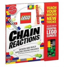 KLUTZ LEGO CHAIN REACTIONS KLUTZ