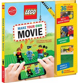 KLUTZ LEGO MAKE YOUR OWN MOVIE BOOK KLUTZ*