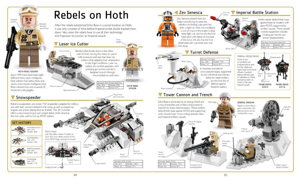 LEGO STAR WARS VISUAL DICTIONARY UPDATED & EXPANDED HB - THE TOY STORE