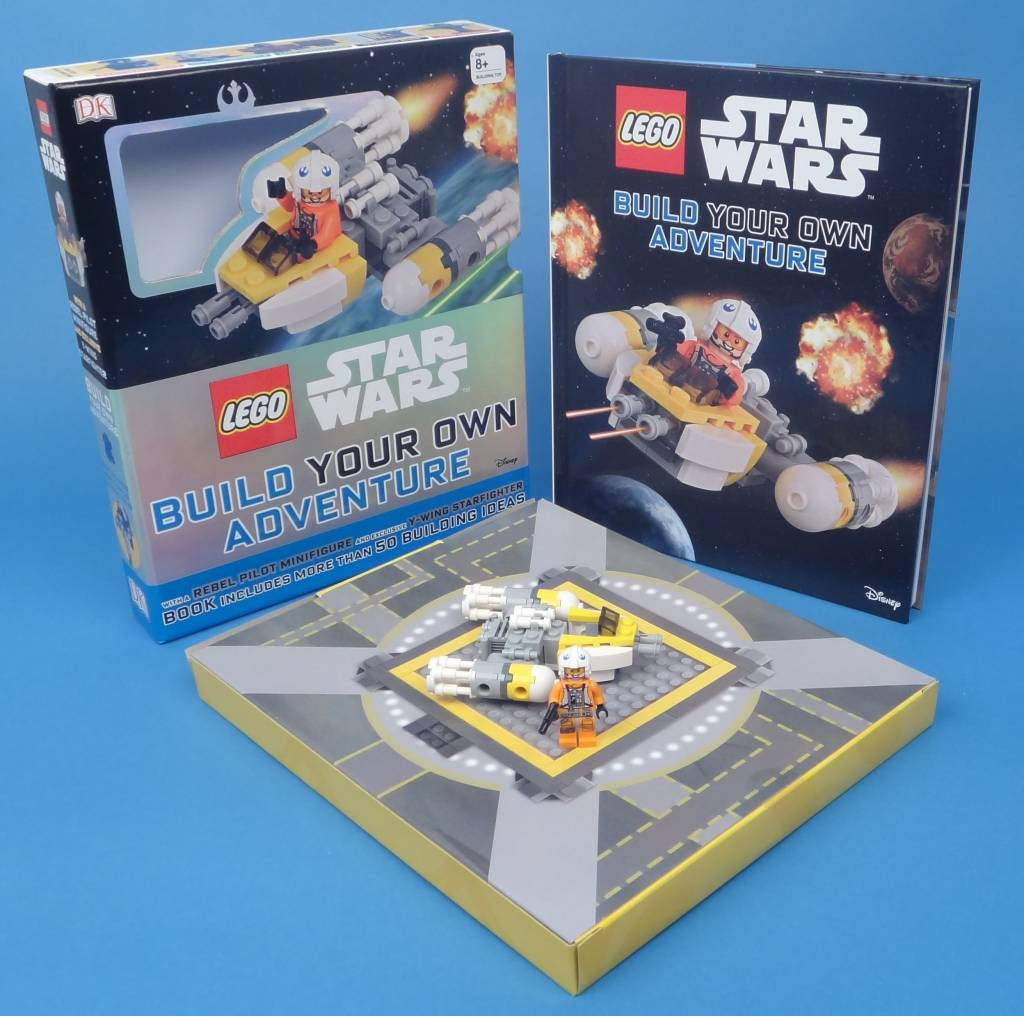 DK PUBLISHING LEGO STAR WARS BUILD YOUR OWN ADVENTURE HB DK