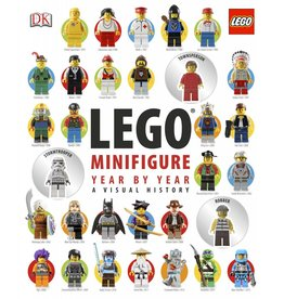 DK PUBLISHING LEGO MINIFIGURE YEAR BY YEAR VISUAL HISTORY BOOK HB