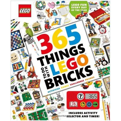 DK PUBLISHING 365 THINGS TO DO WITH LEGO