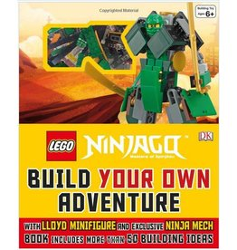 DK PUBLISHING LEGO NINJAGO BUILD YOUR OWN ADVENTURE HB DK
