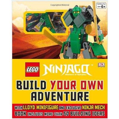 DK PUBLISHING LEGO NINJAGO BUILD YOUR OWN ADVENTURE