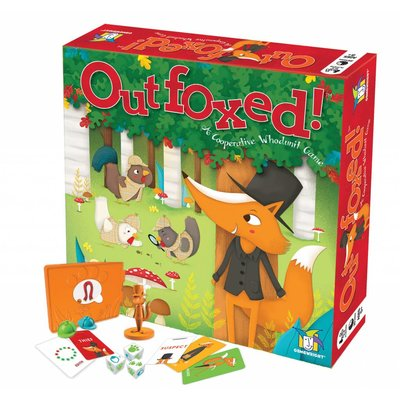CEACO/ BRAINWRIGHT/ GAMEWRIGHT OUTFOXED GAME