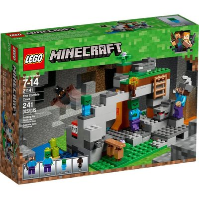 LEGO THE ZOMBIE CAVE MINECRAFT