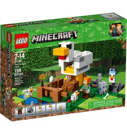 LEGO THE CHICKEN COOP MINECRAFT