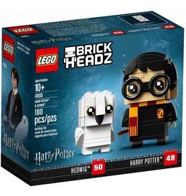 LEGO BRICKHEADZ HARRY POTTER & HEDWIG*