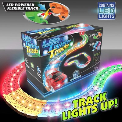 MINDSCOPE LED TWISTER TRACK RACER