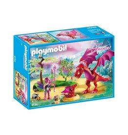 PLAYMOBIL FRIENDLY DRAGON WITH BABY PLAYMOBIL