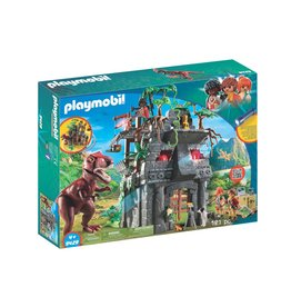 PLAYMOBIL HIDDEN TEMPLE WITH T-REX PLAYMOBIL