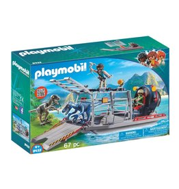 PLAYMOBIL ENEMY AIRBOAT WITH RAPTOR PLAYMOBIL