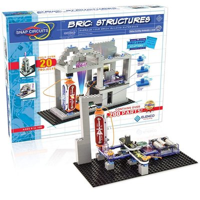 ELENCO ELECTRONICS SNAP CIRCUITS BRIC STRUCTURES