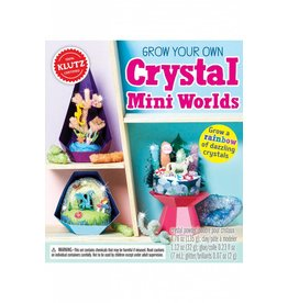 GROW YOUR OWN CRYSTAL MINI WORLDS KLUTZ