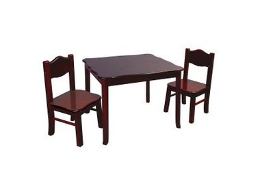 TABLES, CHAIRS & TOY BOXES