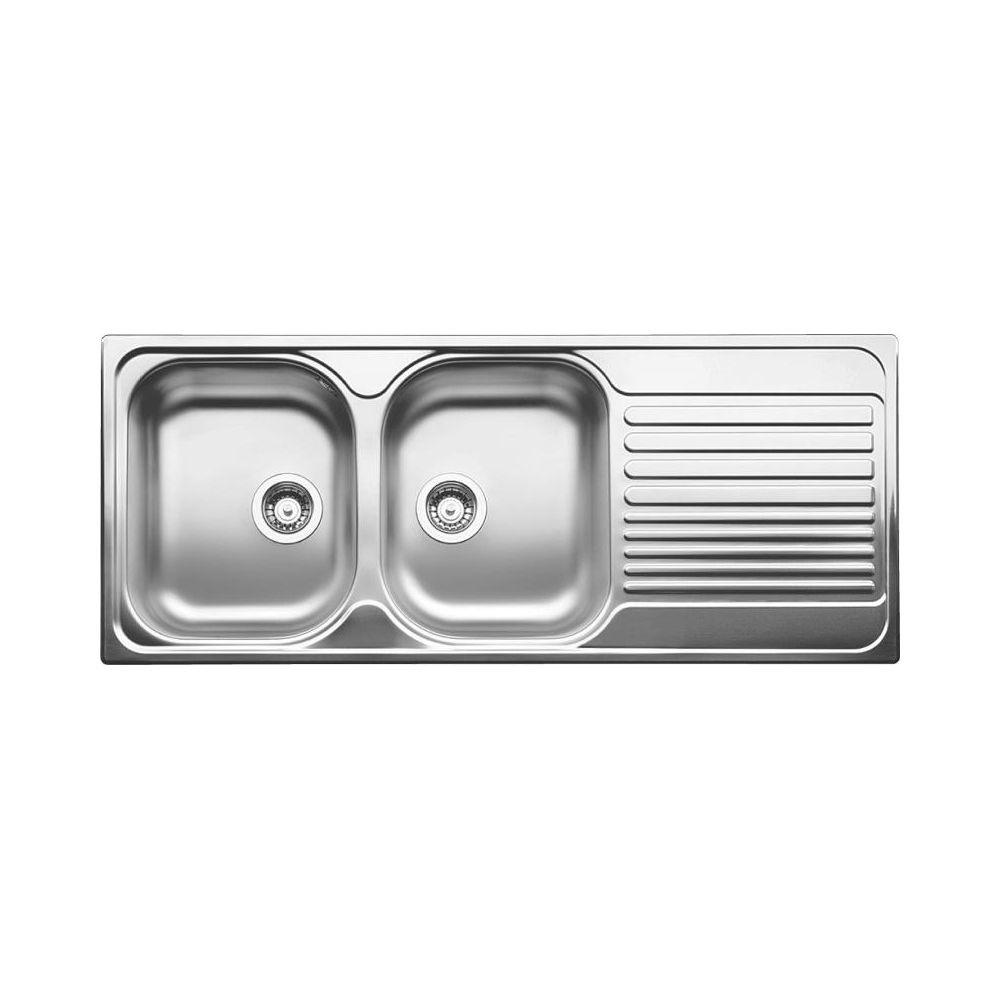 Blanco 401653 Tipo 8s Double Drop In Kitchen Sink Rh Drainboard Builder Supply