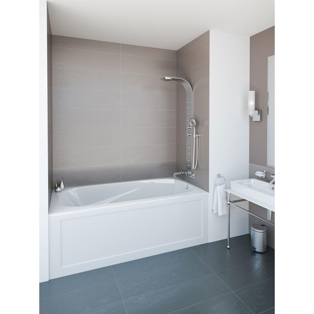 Mirolin Pa6030l R Phoenix Skirted Bath White Builder Supply