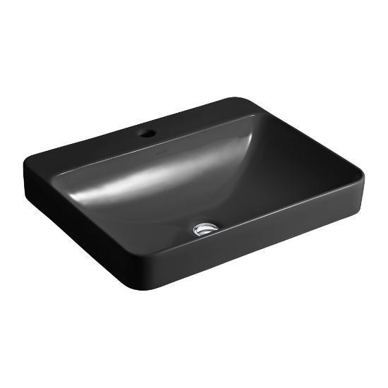 Kohler K2660 Vox Rectangle Vessel, Rectangular Vessel Bathroom Sink