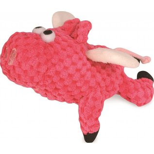 GO DOG GoDog Just for Me Chew Guard Flying Pig Dog Toy X-small