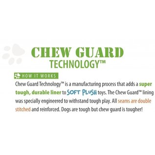 GO DOG GoDog Gators Chew Guard Dog Toy Small, Pink