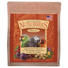 LAFEBER COMPANY LAFEBER'S Senior Nutri-Berries Bird Food and Treat 3 Lb.