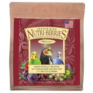 LAFEBER COMPANY Lafeber Nutri-Berries Senior Cockatiel Bird Food 3lb