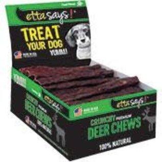 ETTA SAYS DOG 4IN CRUNCHY DEER CHEW STICKS EACH